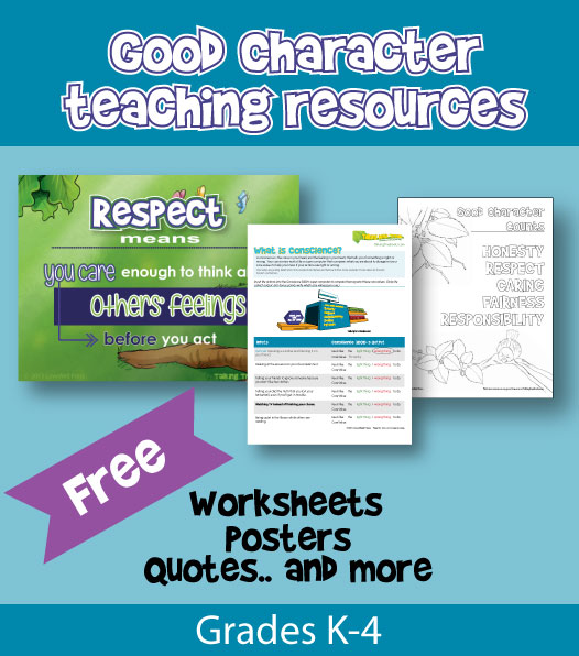 Character ed and social skills teaching resources for kids