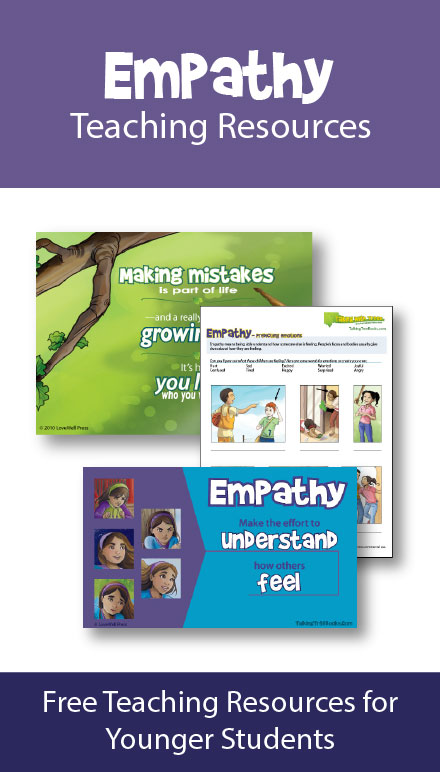Empathy worksheets and teaching resources for elementary school agedkids