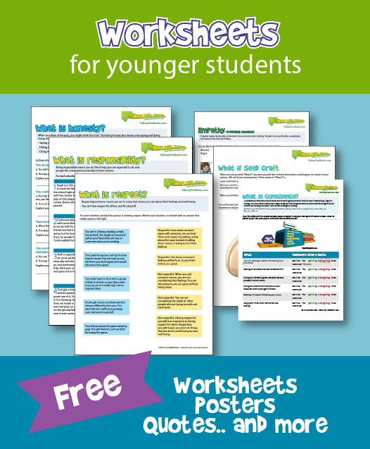 quotes and worksheets on social emotional skills