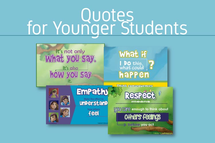 Quote for kids on character and social skills