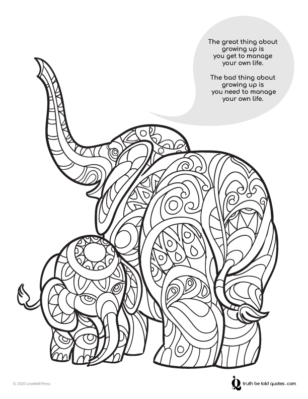 Quotes To Color For Teens And Young Adults